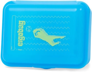 Ergobag LiBearo 2:0 Lunchbox, Blue Green