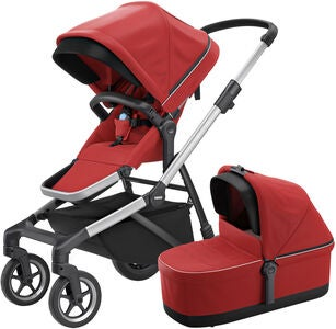 Thule Sleek Kombiwagen, Energy Red